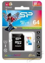 Silicon Power microSDXC Elite 1 64GB Class 10 UHS-I SP064GBSTXBU1V20SP