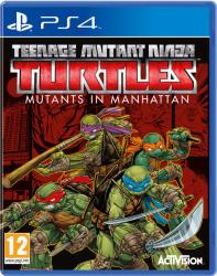 Activision Teenage Mutant Ninja Turtles Mutants in Manhattan (PS4)