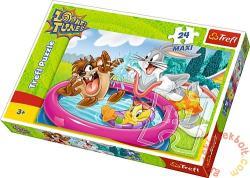 Trefl Maxi Puzzle - Looney Tunes: Pancsolás a kertben 24 db-os (14238)