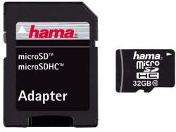 Hama microSDHC 32GB Clasa 10 108086