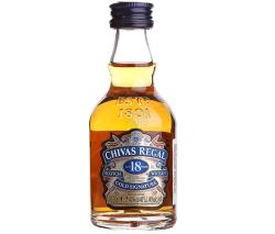 CHIVAS REGAL 18 Years Whiskey 0,05L 40%