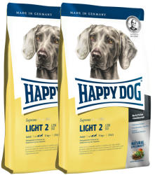 Happy Dog Fit & Well Light 2 Low Fat Adult 2x12,5kg