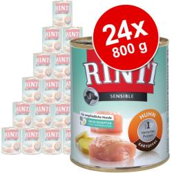 RINTI Sensible - Lamb & Rice 24x800g