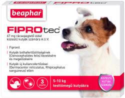 Beaphar Fiprotec Spot On S 5-10kg 67mg (3db)