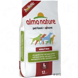 Almo Nature Adult Large - Lamb & Rice 2x12kg