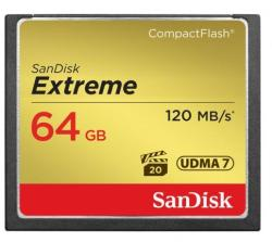 SanDisk Compact Flash Extreme 64GB 120MB/s SDCFXSB-064G-G46