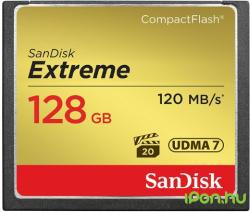 SanDisk Compact Flash Extreme 128GB 800x SDCFXSB-128G-G46