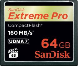 SanDisk CompactFlash Extreme PRO 64GB UDMA 7 (SDCFXPS-064G-X46/123844)