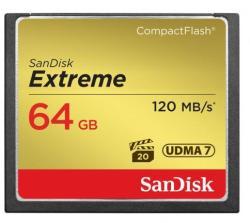 SanDisk Extreme CompactFlash 64GB UDMA 7 SDCFXSB-064G-G46 (124094)