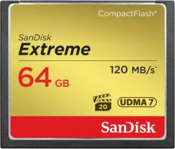 SanDisk Compact Flash Exteme 64GB (SDCFXS-064G-X46/123852)