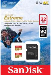 SanDisk microSDXC Extreme 64GB Class 10 SDSQXNE-064G-GN6AA