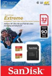 SanDisk microSDXC Extreme 64GB Class 10 SDSQXNE-064G-GN6AA