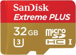 SanDisk microSDHC Extreme Plus 32GB SDSQXSG-032G-GN6MA