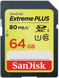 SanDisk SDXC Extreme Plus 64GB UHS-I SDSDXS-064G-X46