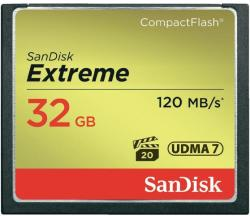 SanDisk Compact Flash Extreme 32GB 120MB/s SDCFXSB-032G-G46