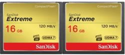 SanDisk CF Extreme 2-Pack 16GB SDCFXS2-016G-X46