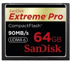 SanDisk CF Extreme PRO 64GB 90MB/s SDCFXP-064G-X46