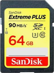 SanDisk SDXC Extreme Plus 64GB SDSDXSF-064G-GNCIN