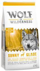Wolf of Wilderness Sunny Glade 2x12kg