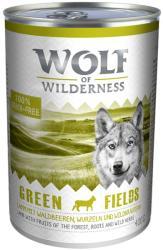 Wolf of Wilderness Green Fields - Lamb 6x400g