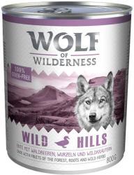 Wolf of Wilderness Green Fields - Lamb 6x800g
