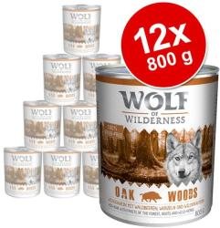 Wolf of Wilderness Green Fields - Lamb 12x800g