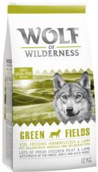 Wolf of Wilderness Green Fields - Lamb 2x12kg