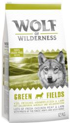 Wolf of Wilderness Green Fields - Lamb 2x12kg