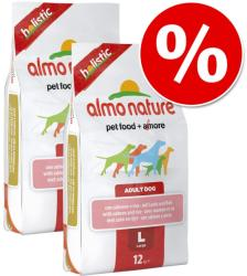 Almo Nature Adult Large - Salmon & Rice 2x12kg