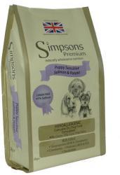 Simpsons Premium Puppy Sensitive  Salmon & Potato 2x12kg