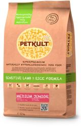 PETKULT Sensitive Lamb & Rice Formula Medium Junior 12kg
