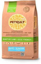 PETKULT Sensitive Lamb & Rice Formula Maxi Junior 12kg
