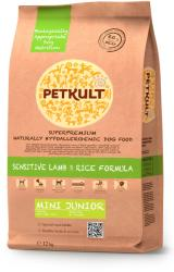 PETKULT Sensitive Lamb & Rice Formula Mini Junior 12kg