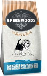 Greenwoods Puppy Turkey & Rice 2x2kg