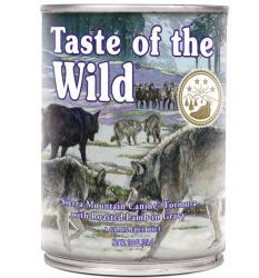 Taste of the Wild Sierra Mountain Canine Formula 12x374g