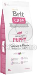 Brit Care - Grain-free Puppy Salmon & Potato 3x12kg