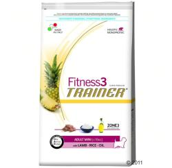 TRAINER Fitness 3 Adult Mini Lamb & Rice 7,5kg