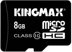 KINGMAX MicroSDHC 8GB Class 10 KM08GMCSDHC101A