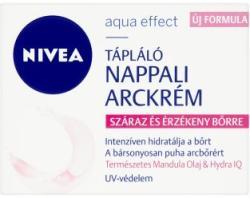 Nivea Aqua Effect tápláló nappali arckrém száraz és érzékeny bőrre 50ml