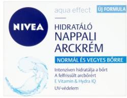 Nivea Aqua Effect hidratáló nappali arckrém normál és vegyes bőrre 50ml