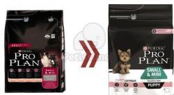 PRO PLAN OptiDerma Small & Mini Puppy Sensitive Skin 4x3kg
