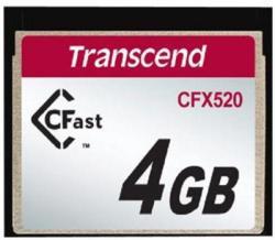 Transcend CFast Industrial 4GB TS4GCFX520