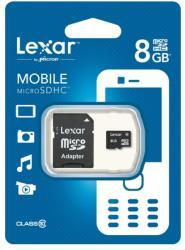 Lexar MicroSDHC 8GB Class 10 LSDMI8GBABEUC10A