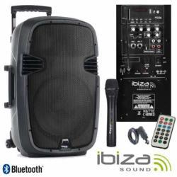 Ibiza Sound HYBRID10VHF-BT