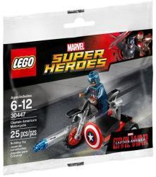 LEGO Marvel Super Heroes - Amerika kapitány motorbiciklije (30447)