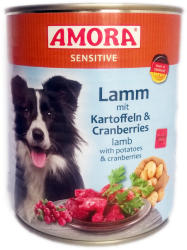 Amora Sensitive - Lamb, Potato & Cranberries 400g