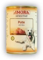 Amora Sensitive - Turkey & Rice 12x400g