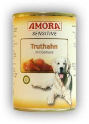 Amora Sensitive - Turkey & Vegetables 18x400g