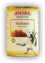 Amora Sensitive - Turkey & Vegetables 18x800g