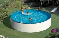 Pontaqua Ecoplast kerek medence 460x120cm (FFA702)